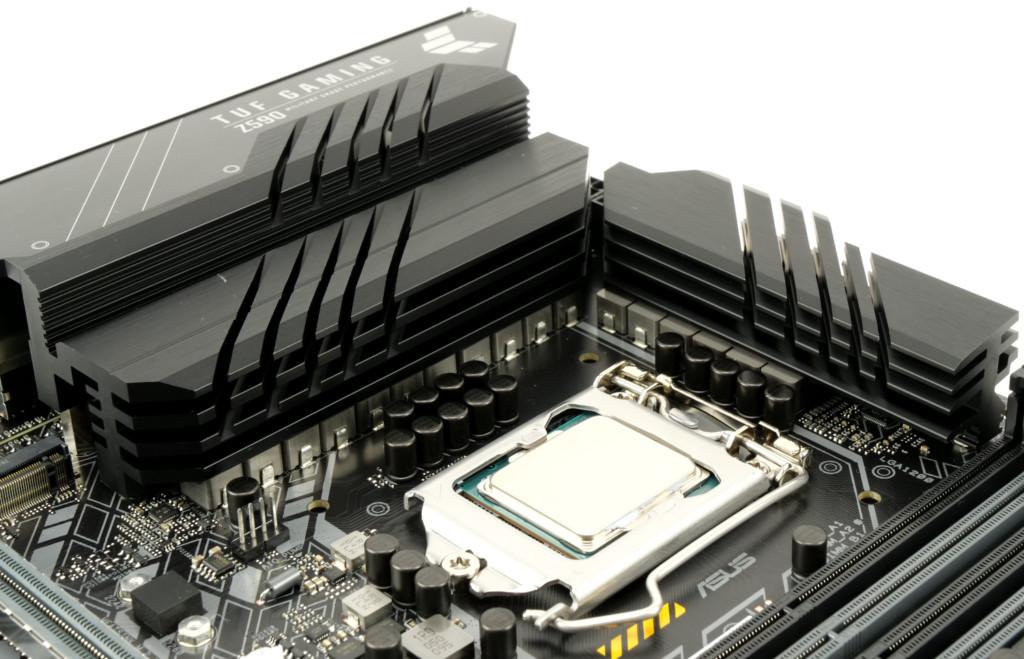 Asus TUF Gaming Z590-Plus WiFi VRM