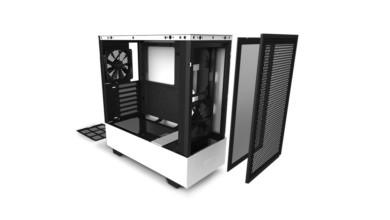 Photo of NZXT H510 Flow, le boitier optimisé pour un bon flux d'air, en blanc ou en noir !